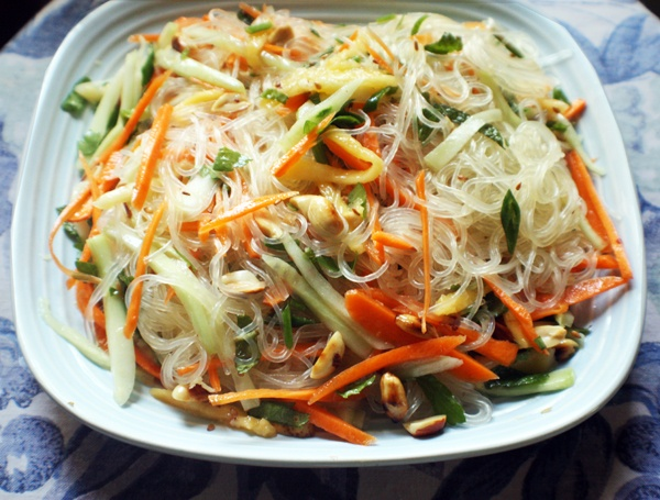 Asian Cold Noodle Salad | Girl Friends Cooking Club