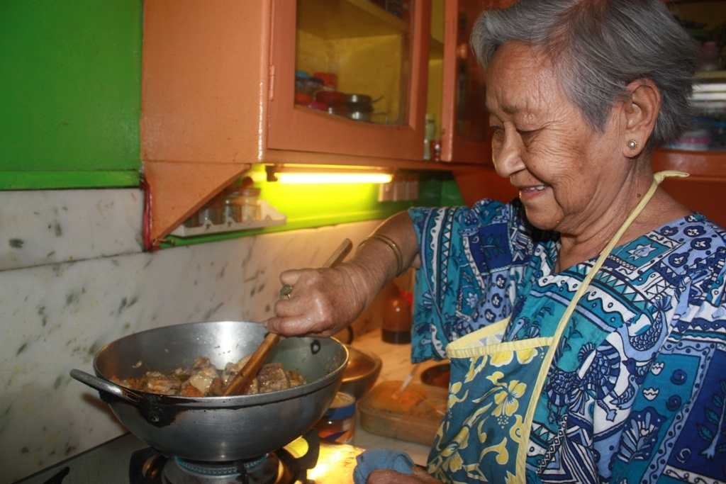 My Granny cooking her delicious recipes